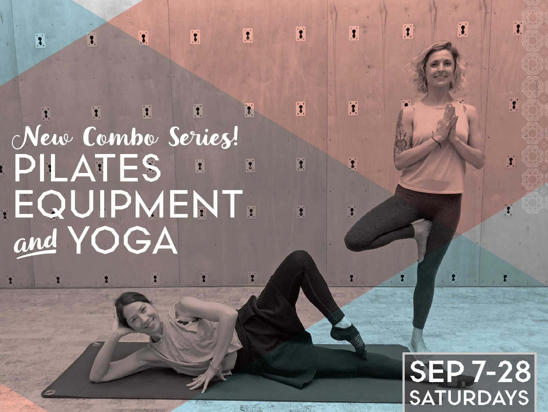 Pilates Equipment and Yoga Combo Series
