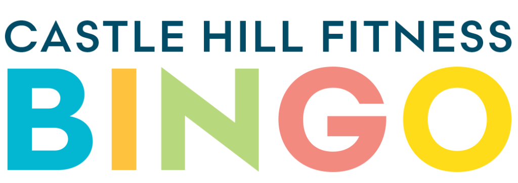 Castle Hill Fitness Bingo Banner