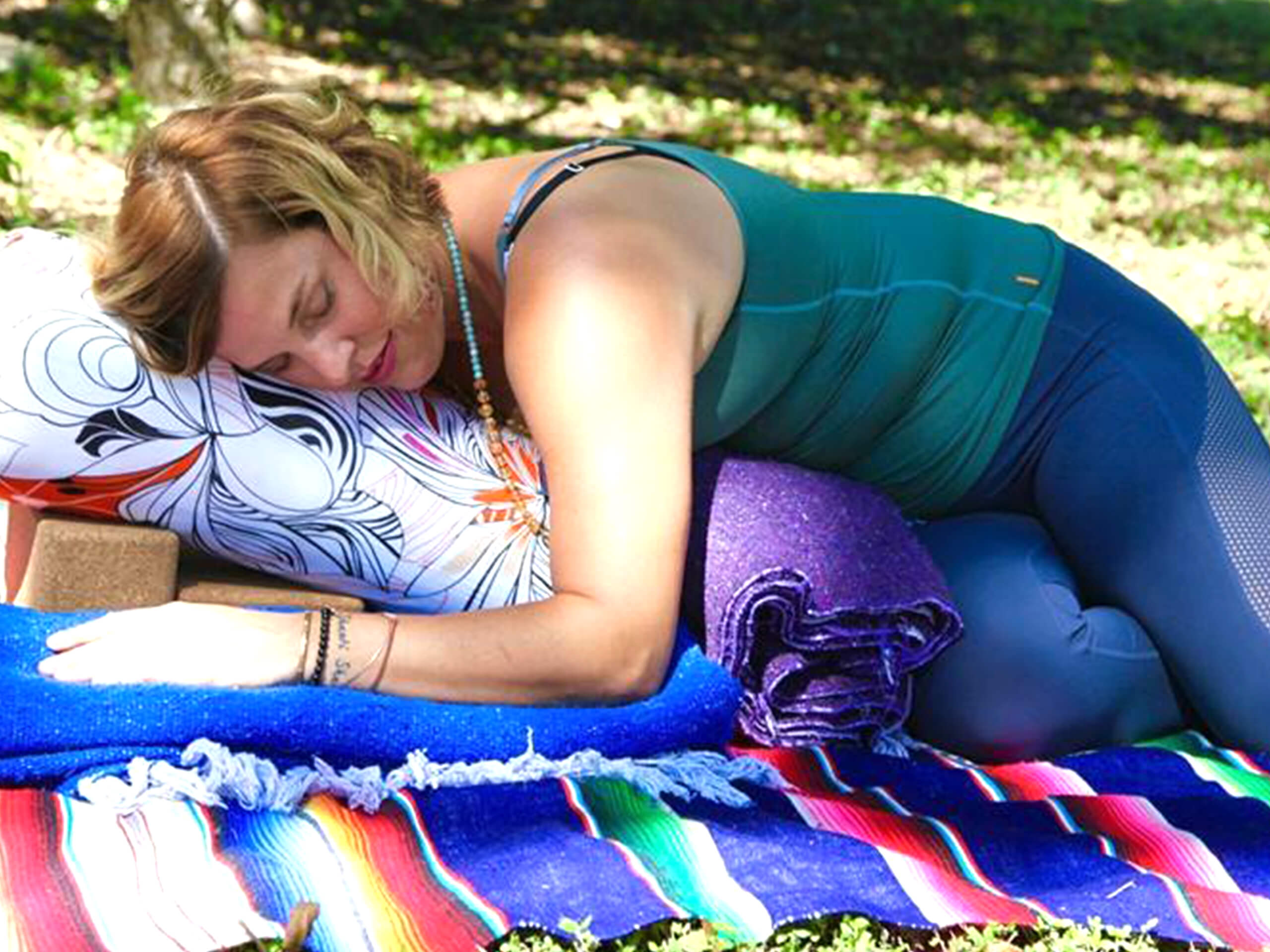 Turn the Switch Off with Restorative Yoga