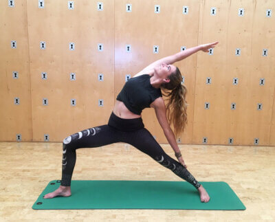 Yoga Instructor Morgan Malia Warrior 3 Pose