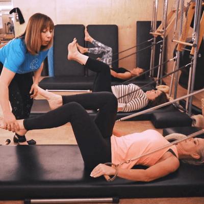 Pilates Sculpt Class with Celeste Knickerbocker for Pilates Guide