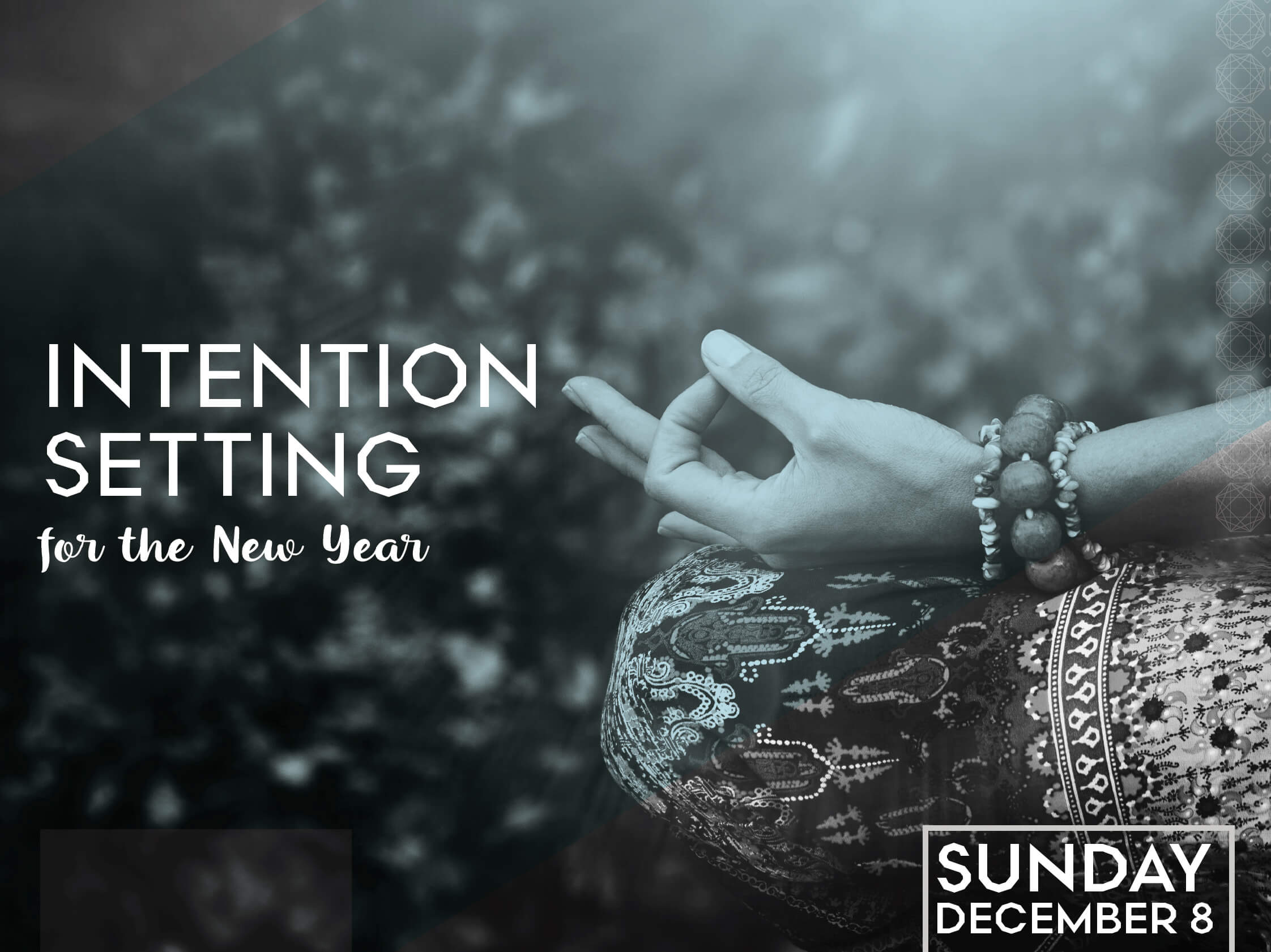 Intention Setting for the New Year
