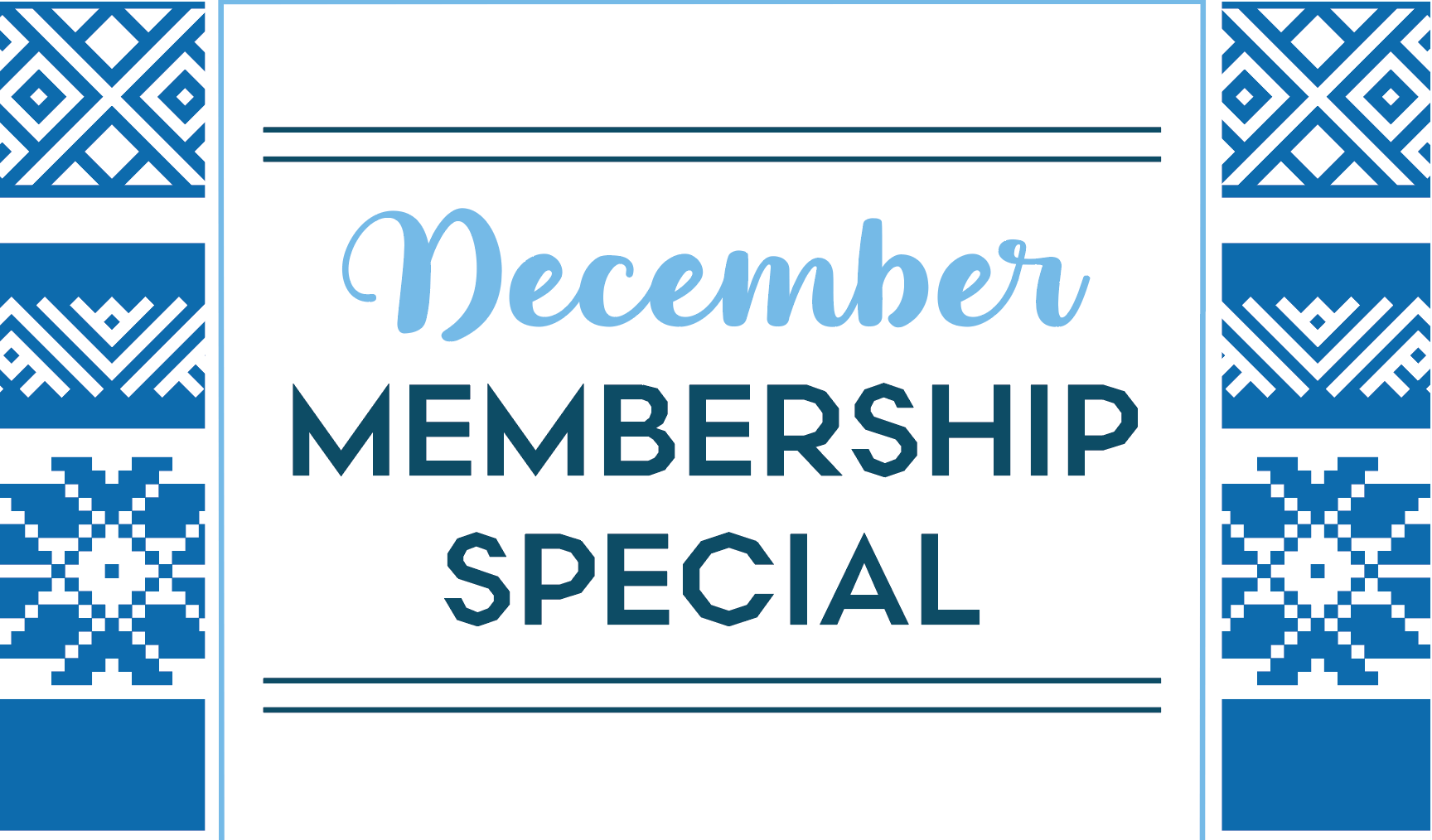 Our December Membership Deal Will Keep You Cozy