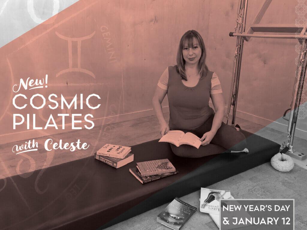 Celeste Knickerbocker Cosmic Pilates Winter Workshop