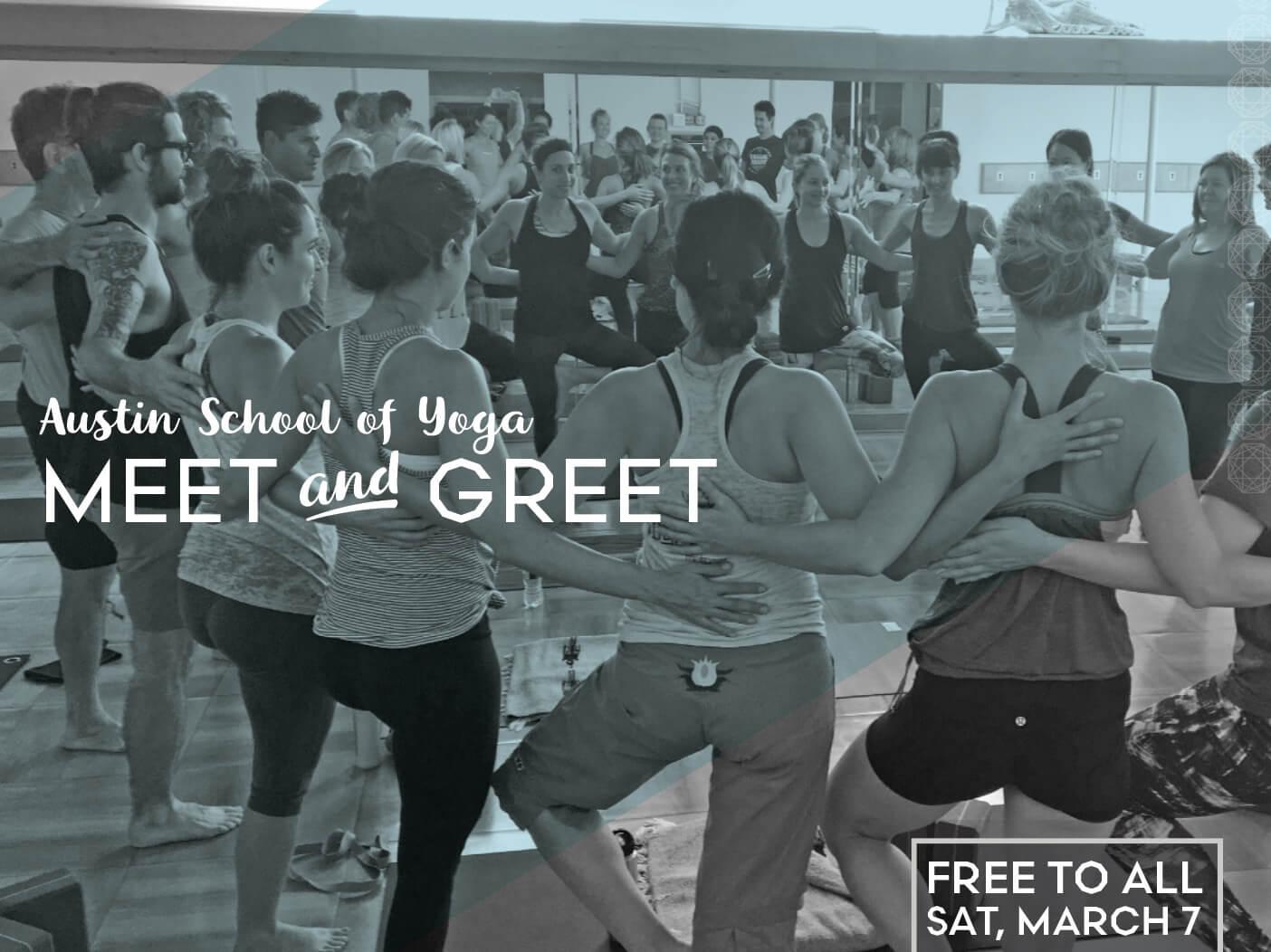 Austin School of Yoga Meet and Greet