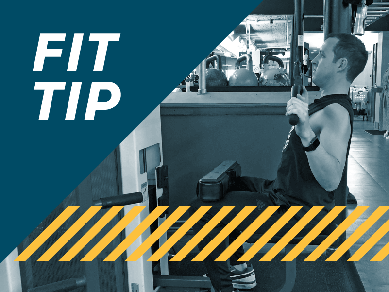 Fit Tip Lat Pull Down Exercise with Keith Kohanek Blog Cover