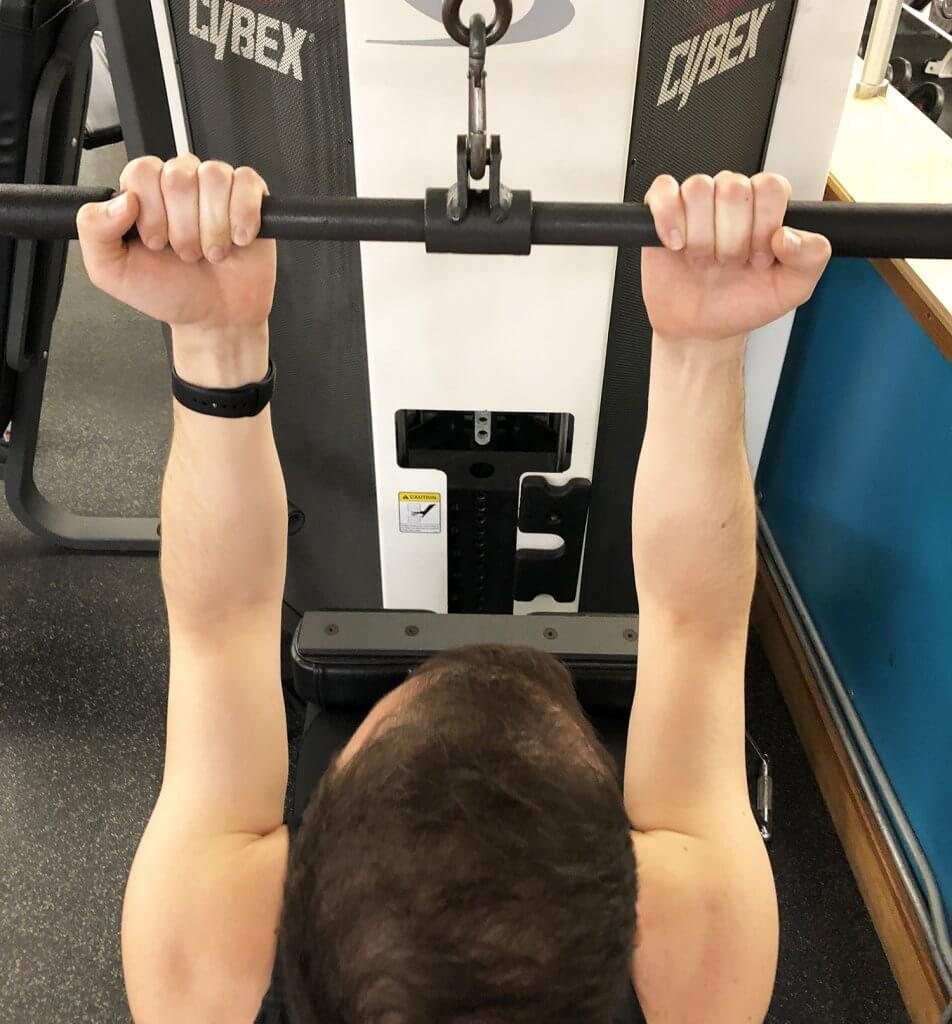 Underhand Narrow Grip Variation for Lat Pull Down Exercise with Keith Kohanek