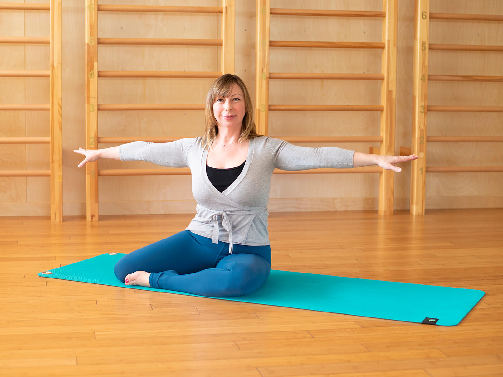 Home Pilates Mat Routine with Celeste