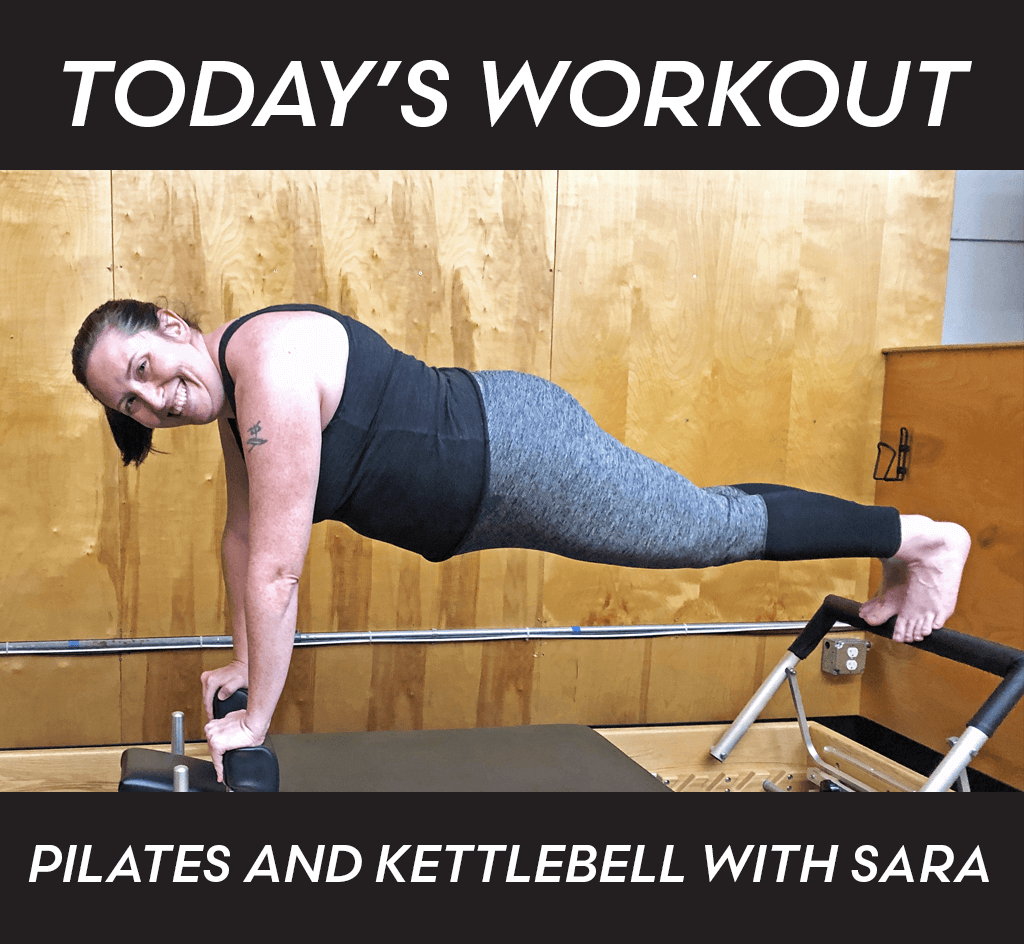 Daily Workout: Kettlebell Pilates Circuit