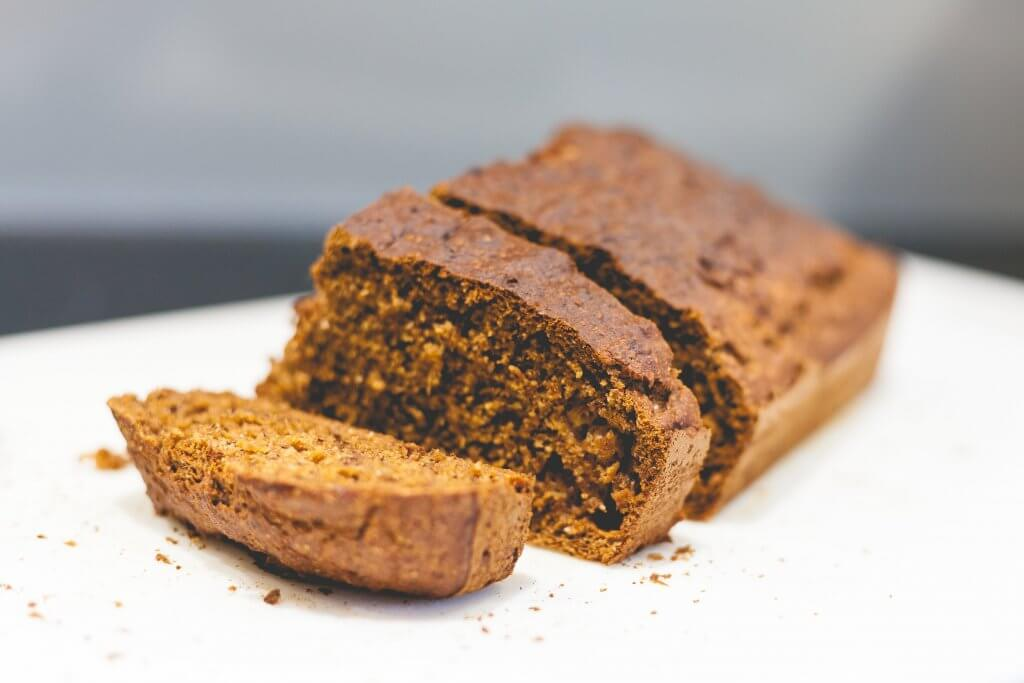 Image of sliced Banana Bread