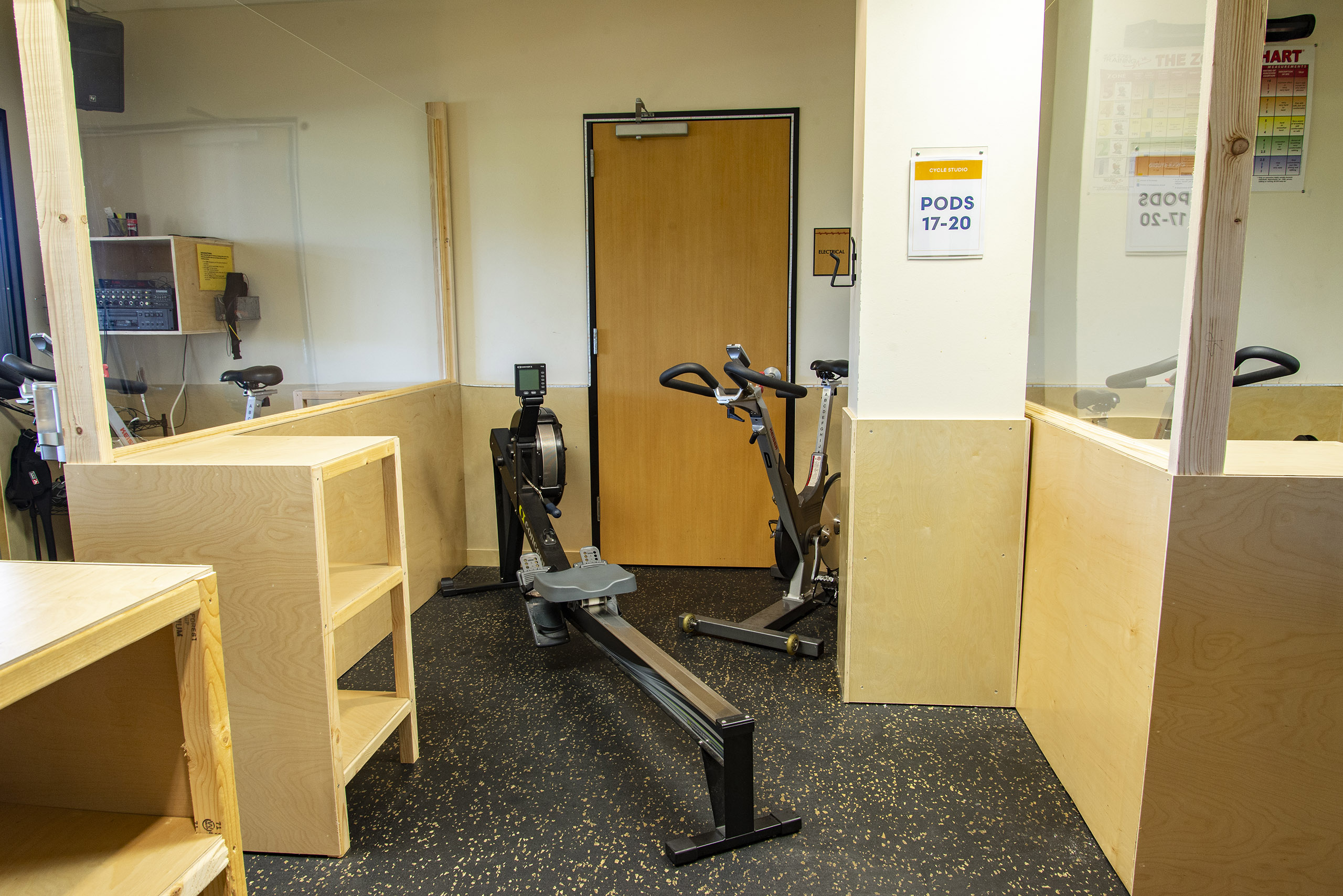Cycle Studio - Pod 18 - Castle Hill Fitness 360 - Austin, TX