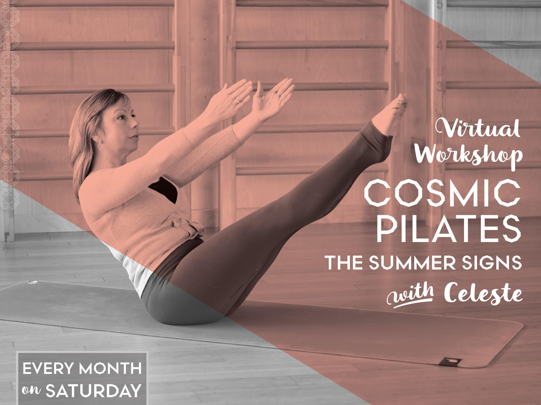 Cosmic Pilates: Move with the Stars