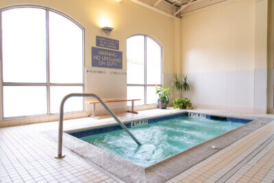 Recovery Pod hot tub castle hill fitness 360