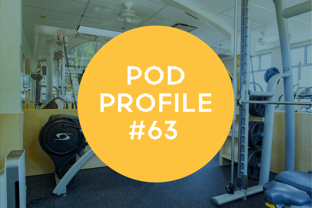 Jeremy Sims Workout for Pod Profile Main Gym Pod 63