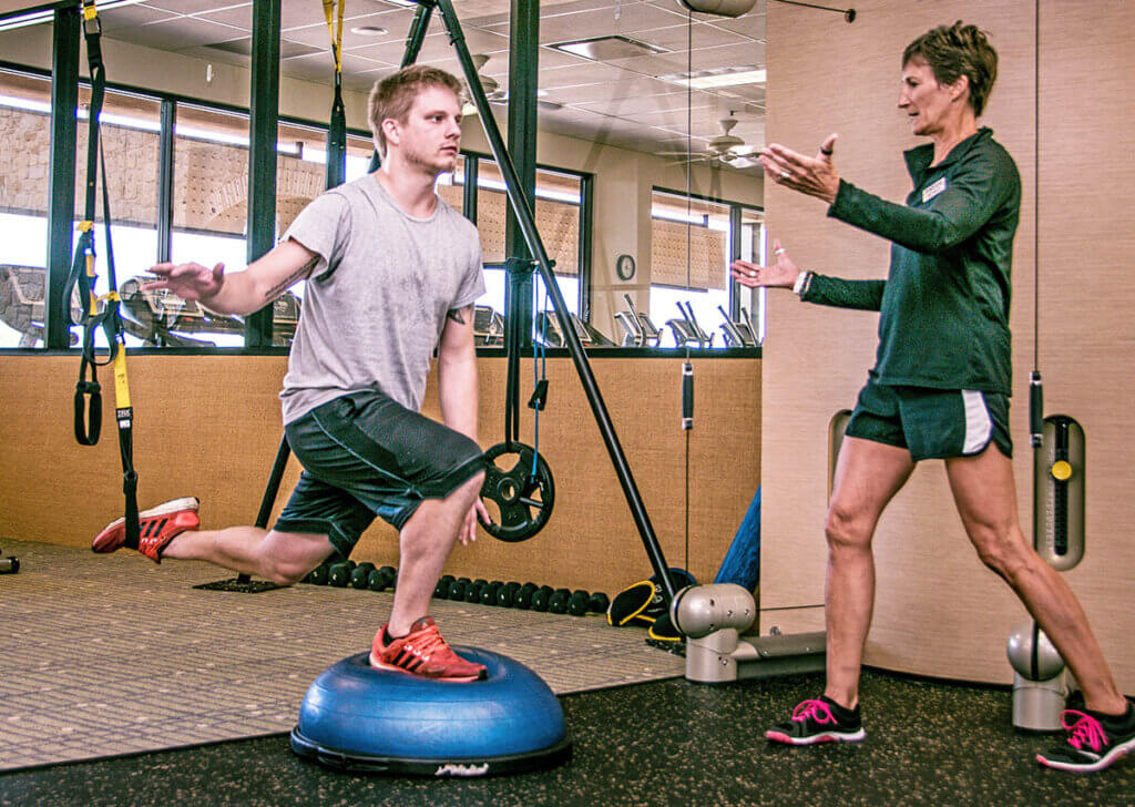 Personal training with Michele