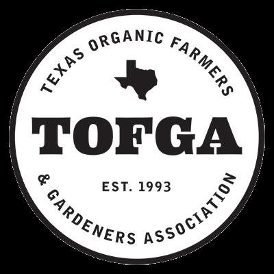 Texas Organic Farmers and Garden Association Logo