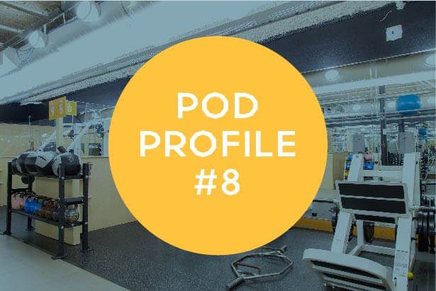 Pod Profile Main Gym Pod 8