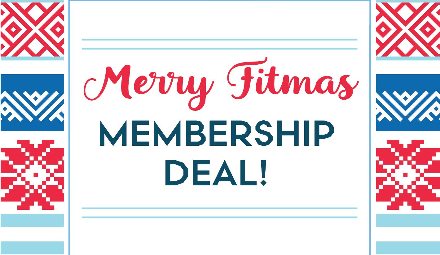 12 Days of Fitmas Membership Deal
