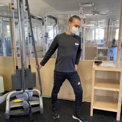 Mark Stretch Main Gym 64 Pod Profile - Low