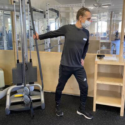 Mark Stretch Main Gym 64 Pod Profile - Medium