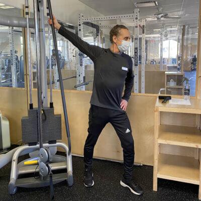 Mark Stretch Main Gym 64 Pod Profile - High