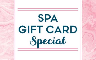Valentine's Day Spa Gift Card Promo