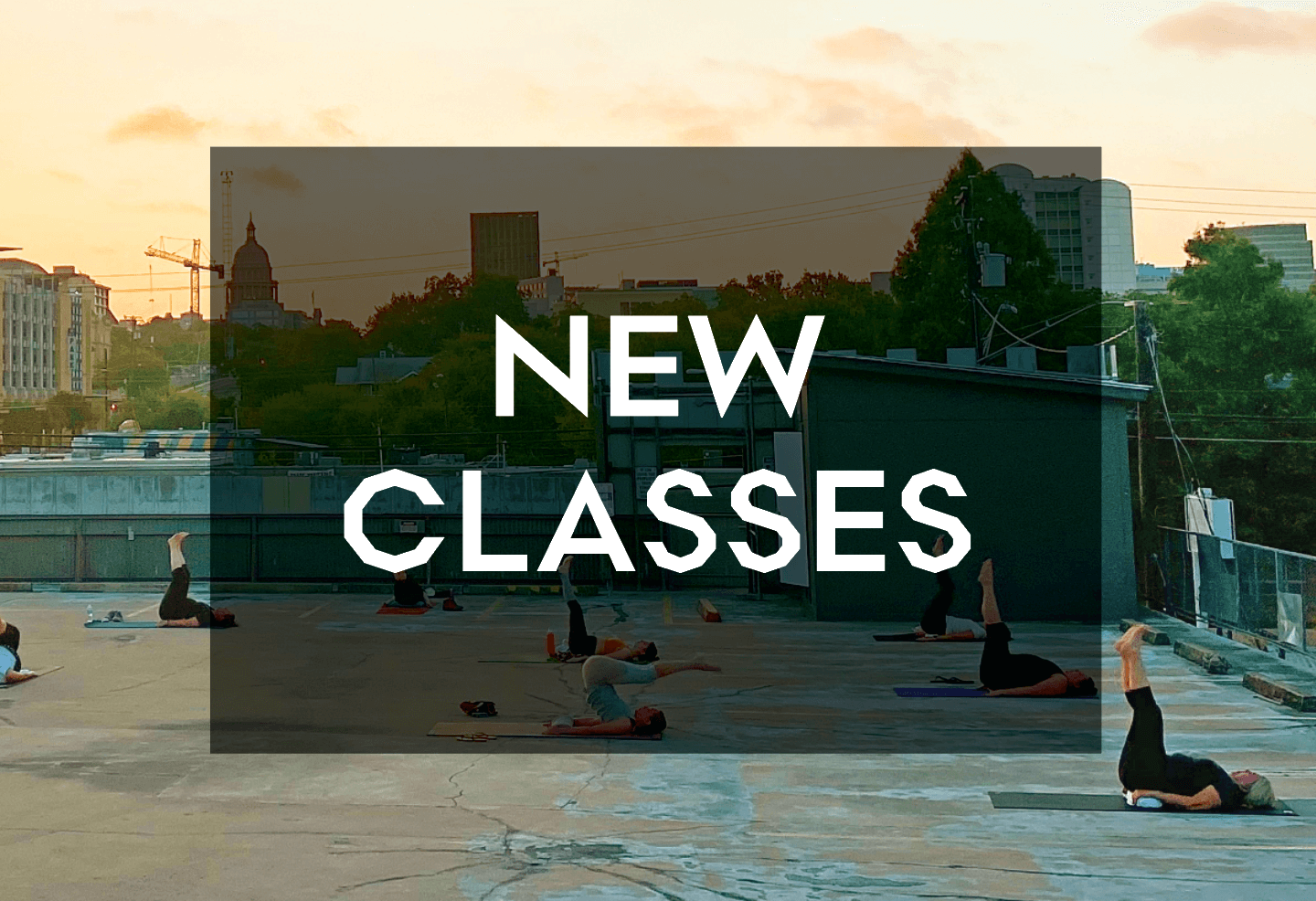 New Classes this May