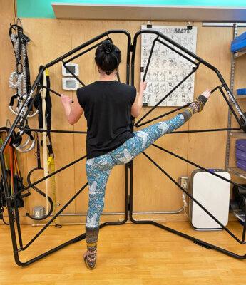 Erin Pod 23 Profile, Adductor Stretch