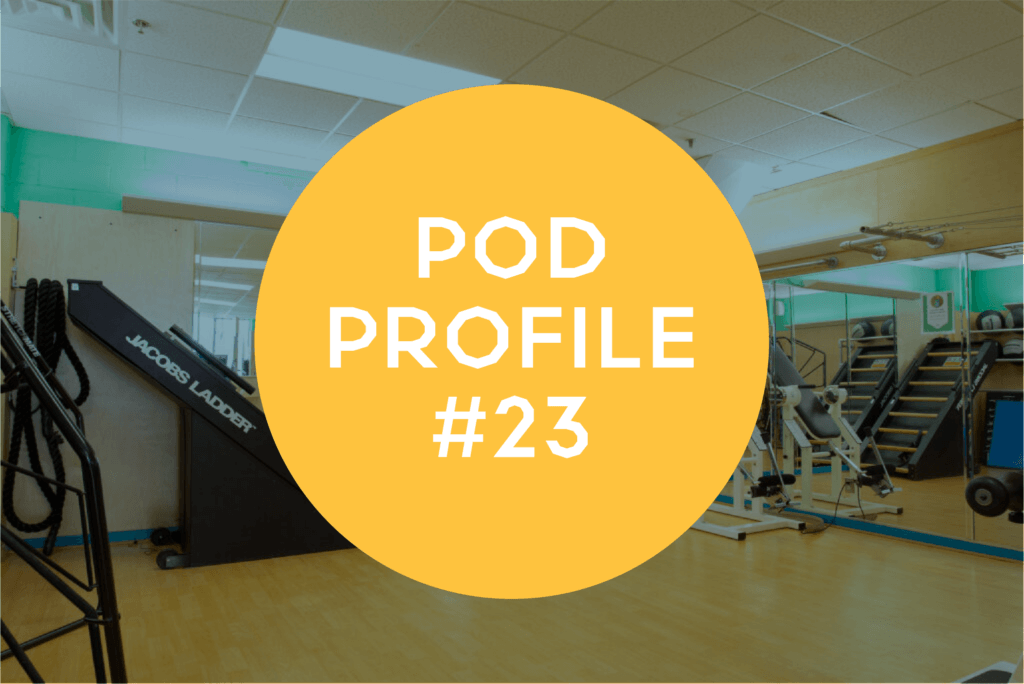 Pod Profile: Stretch Room Pod 23