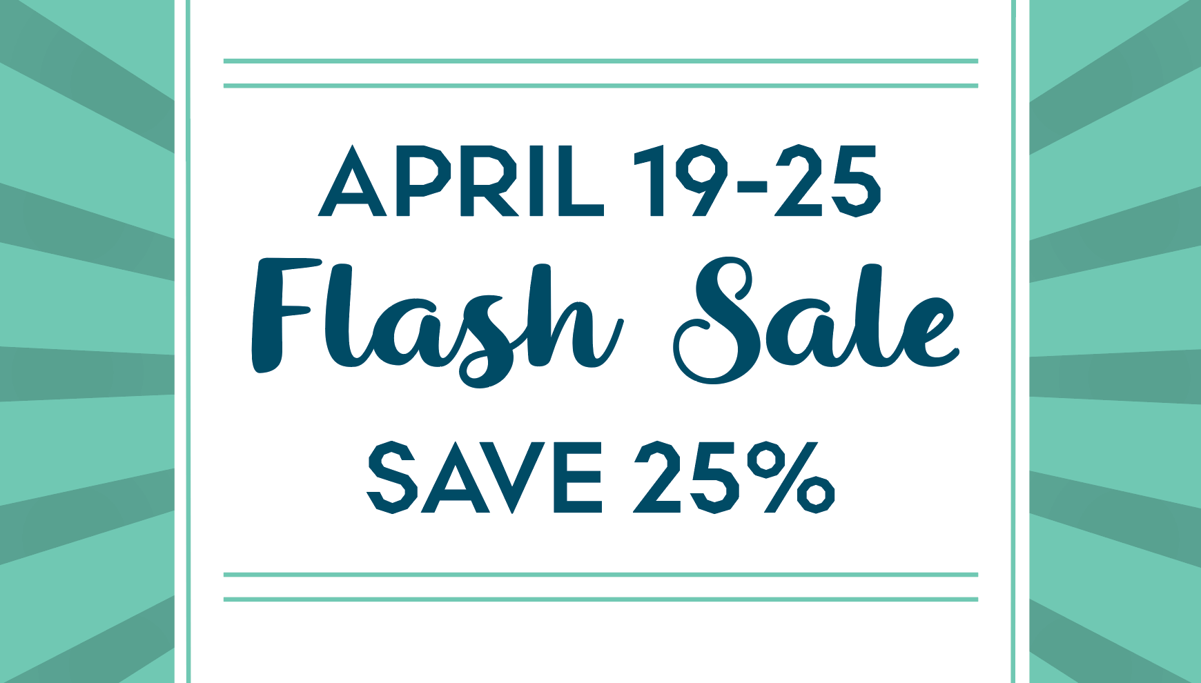 Flash Sale on Skin Care Products