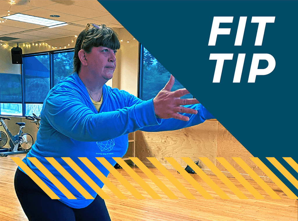 Fit Tip Laurie Balance Routine