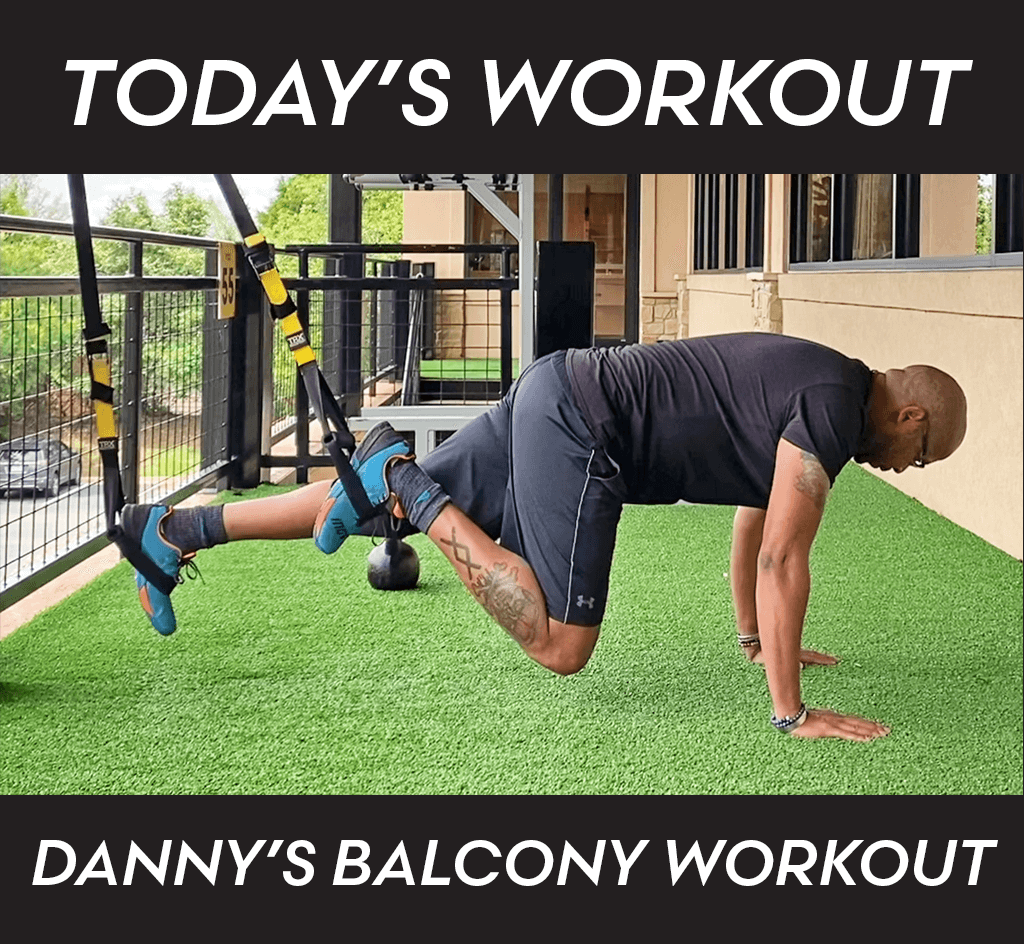 A Balcony Workout with Danny Brooks