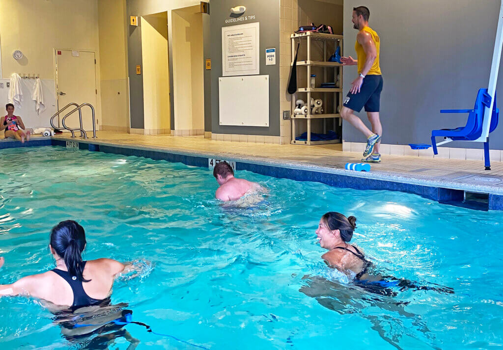 Water Fitness Class with Jeremy