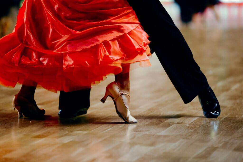 Dancers in Tango Classes