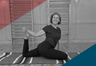 Yin Yoga Pilates Equipment Pose