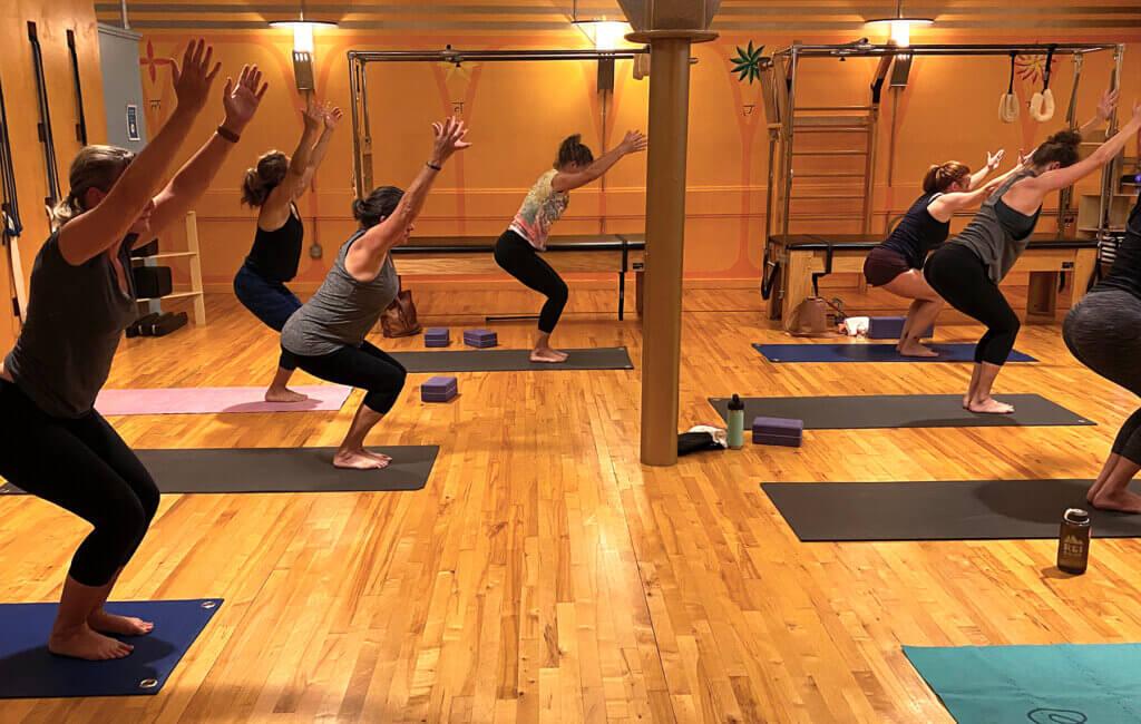 Yoga Classes in the Chakras Studio